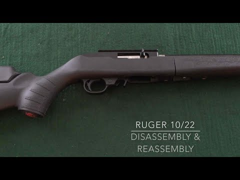 Ruger 10/22 Takedown Lite Disassembly and Reassembly