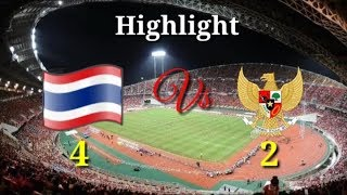 THAILAND Vs INDONESIA ( 4 - 2 ) PIALA AFF 2018 - Official RCTI