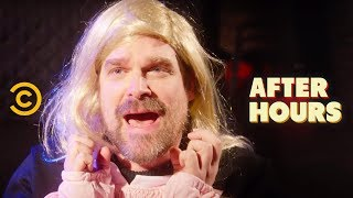 David Harbour's Very Weird One-Man Show - After Hours with Josh Horowitz