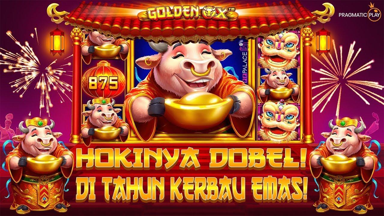 Golden Ox Slot Online Pragmatic Play Terbaru Slot Imlek Chinese New Years 2021 Nagahoki Youtube