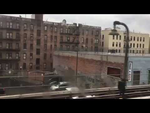 Jerome avenue the Bronx NYC from the train