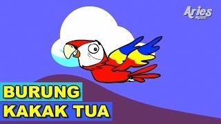 Alif & Mimi - Burung Kakak Tua (Animasi 2D) Lagu Kanak Kanak