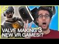 Valve making 'full' VR games, Intel 8th