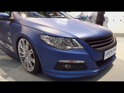 VW Passat CC 3.6 V6 4Motion Alpine Sound Tuning [HD]