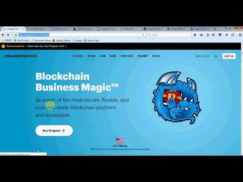 Dragonchain ICO - Disney Blockchain