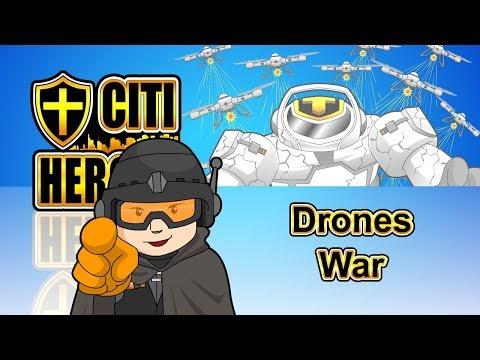 """Citi Heroes EP46 """"Drones War""""@""""Citi Heroes"""" CARtoons"""