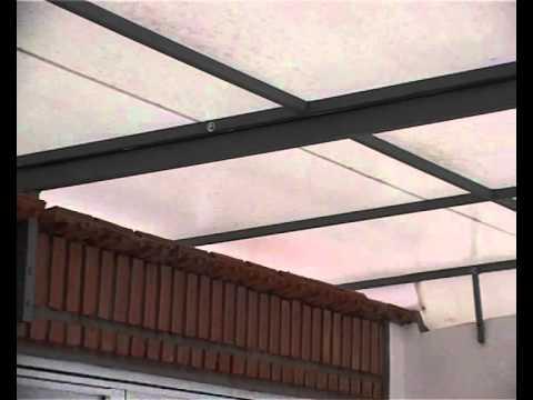Toldo fijo sobre estructura de ca o fernando garutti for Tipos de toldos para patios