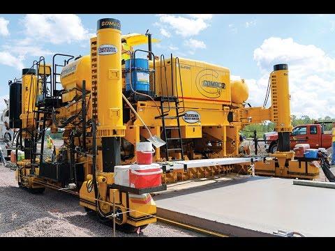 Самый большой бетоноукладчик в мире