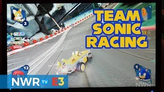Team Sonic Racing (Off-Screen) PS4 Version - E3 2018