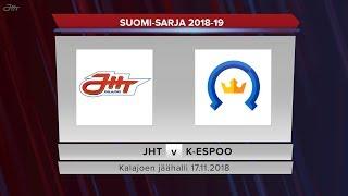 JHT - Kiekko-Espoo 17.11.2018 maalikooste