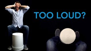 Bucket Drumming Too Loud?