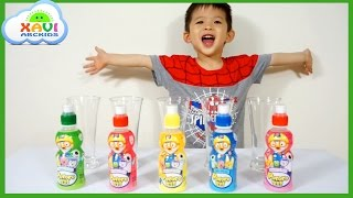 Learn Colors with Pororo Birds Drinks - Xavi ABCKids