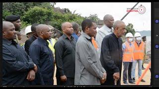 VIDEO: Maalim Seif atembelea mradi daraja la Kigogo-Busisi