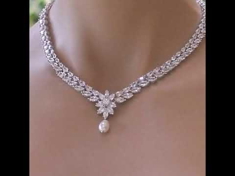 Most Gorgeous And Expensive Diamond Necklace Designs Ideas For Girls Diamond Neckwear Ideas Youtube