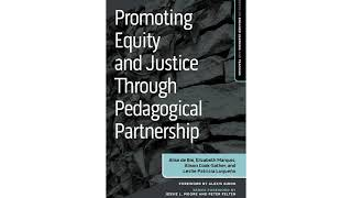 Book trailer for Promoting Equity and Justice through Pedagogical Partnership
