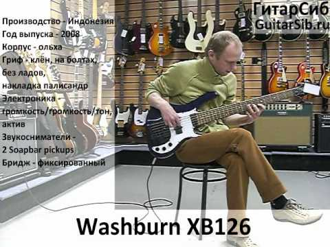 Washburn XB126 YouTube