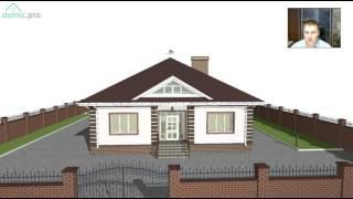 Проект большого одноэтажного дома на 3 спальни «Семья» C-247-ТП(, 2017-05-11T06:30:09.000Z)