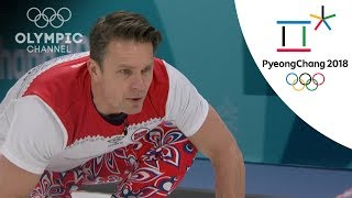 Norway gets another Curling victory over Team USA | Day 9 | Winter Olympics 2018 | PyeongChang
