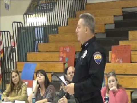Quartzsite Elementary School Meeting on Bulling 2-26-13