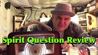 Spirit Question Review and Ghost Box Session - WAGNER ITC PARANORMAL