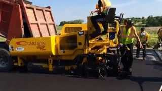 Video still for CARLSON CP100 PAVER