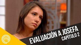 Evaluación al plato de Josefa   MasterChef Chile 3   Capítulo 2