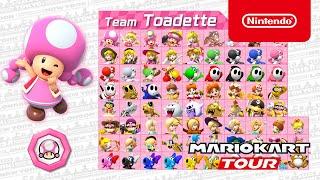 Mario Kart Tour   Toad vs  Toadette Tour