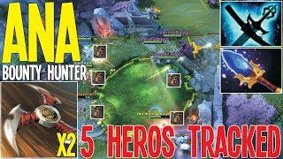 ANA Bounty Hunter Magic Meta 19 Kills Roaming | Dota 2 Pro Gameplay