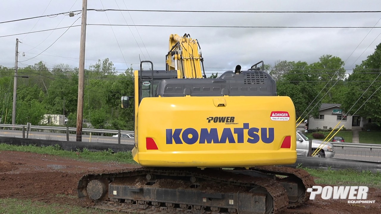 Power Equipment - Parchman Construction Company, Inc  - Komatsu PC210LC