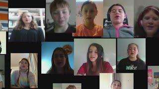Ridgefield teacher pulls off virtual choir for her students
