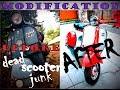 Bajaj Chetak Restoration (Modification) | From Junk Yard