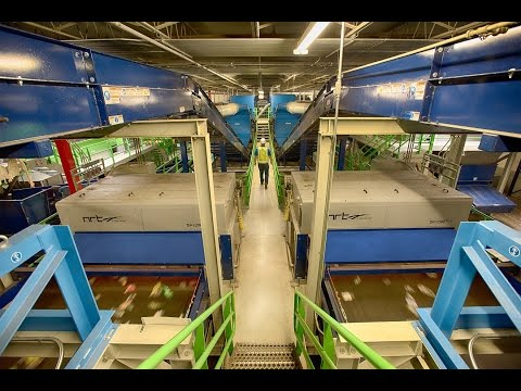 Plastics Recycling System Online for Unifi