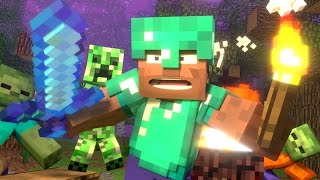 "♫""Steve's Life"" - Minecraft Animation (Minecraft Song Parody)"
