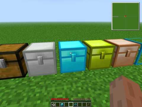 как делать алмазный сундук в minecraft