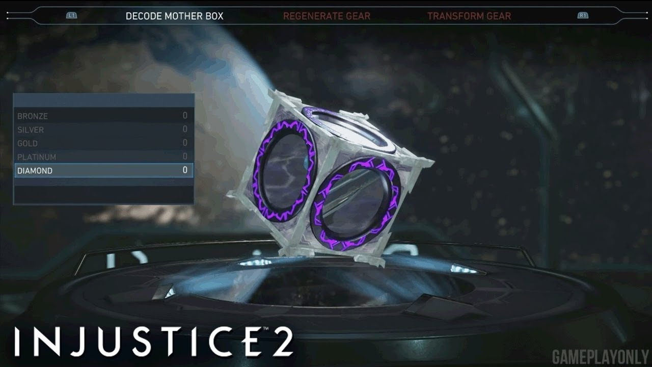 Injustice 2 mother boxes