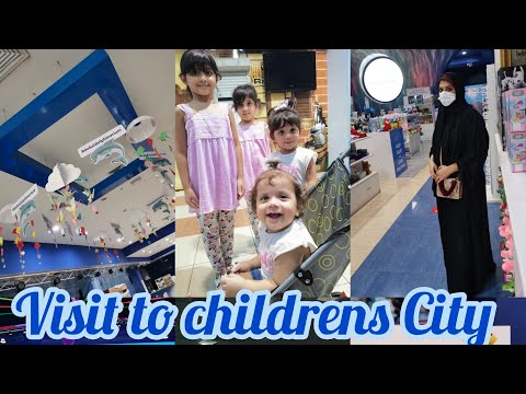 A visit to children city for dolphin and seal show | Creek park | Family day out | Benazir khwaja