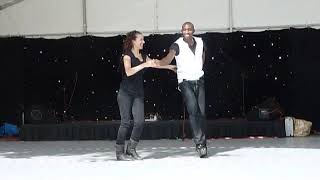 Freestyle Salsa Dance Performance - Bacardi Party
