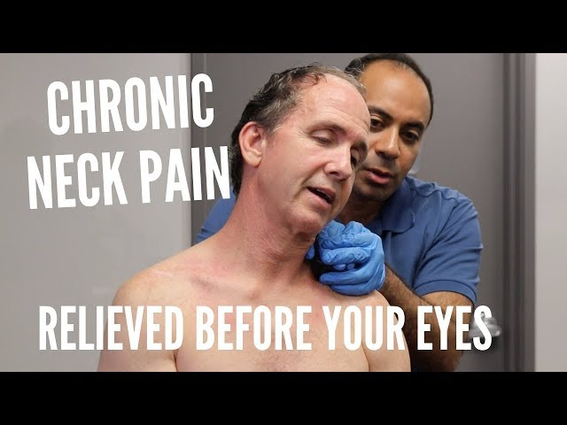 Chronic Neck Pain Relieved Before Your Eyes With ASTR (REAL RESULTS!!!)