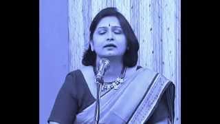 Chehra Mera Tha Nigahein Uski ..Parveen Shakir ghazal by Bharathi Vishwanathan
