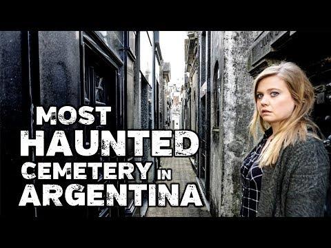 Haunted La Recoleta Cemetery Buenos Aires - Rufina Cambaceres Death