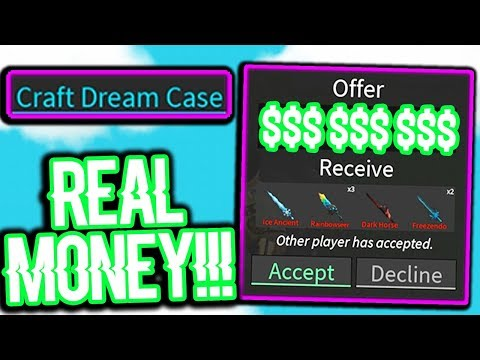 BUYING THE BRAND NEW ASSASSIN KNIFE WITH MONEY?!