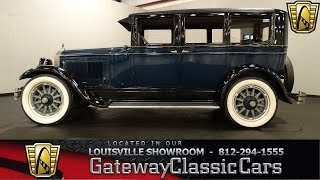 1926 Buick Model 50 - Louisville Showroom  - Stock # 1220