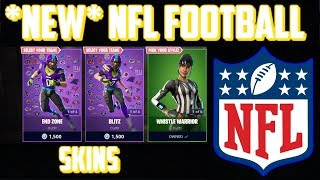 *NEW* NFL FOOTBALL SKINS | Fortnite Battle Royale