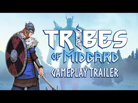 Tribes of Midgard: Playstation 5 (PS5) Gameplay Reveal Trailer