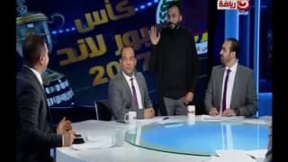بالفيديو| عجائب الإعلام المصري.. #إبراهيم_سعيد يقتحم استيديو على الهواء