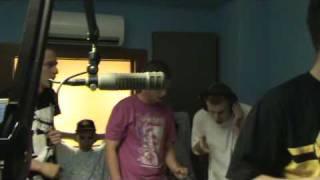 Iscream, DTC, Plastic Riders live radio freestyle pt. 2