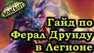 Гайд по Ферал Друиду Легион Патч 7.0.3 - Feral Druid Guide Patch 7.0.3 Legion - Рейвис