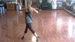 Argentine Tango Musicality Demonstration; How to dance to the music  www.tangonation.com   7/21/2013