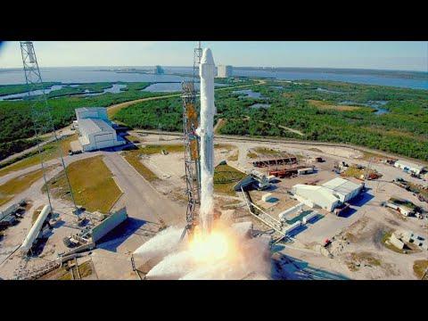 Frachtlieferung zur ISS: Recycelte SpaceX-Rakete hebt ab