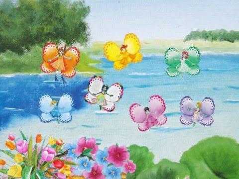 Canzoni favole per bambini raccontate sette farfalle for Immagini farfalle per desktop